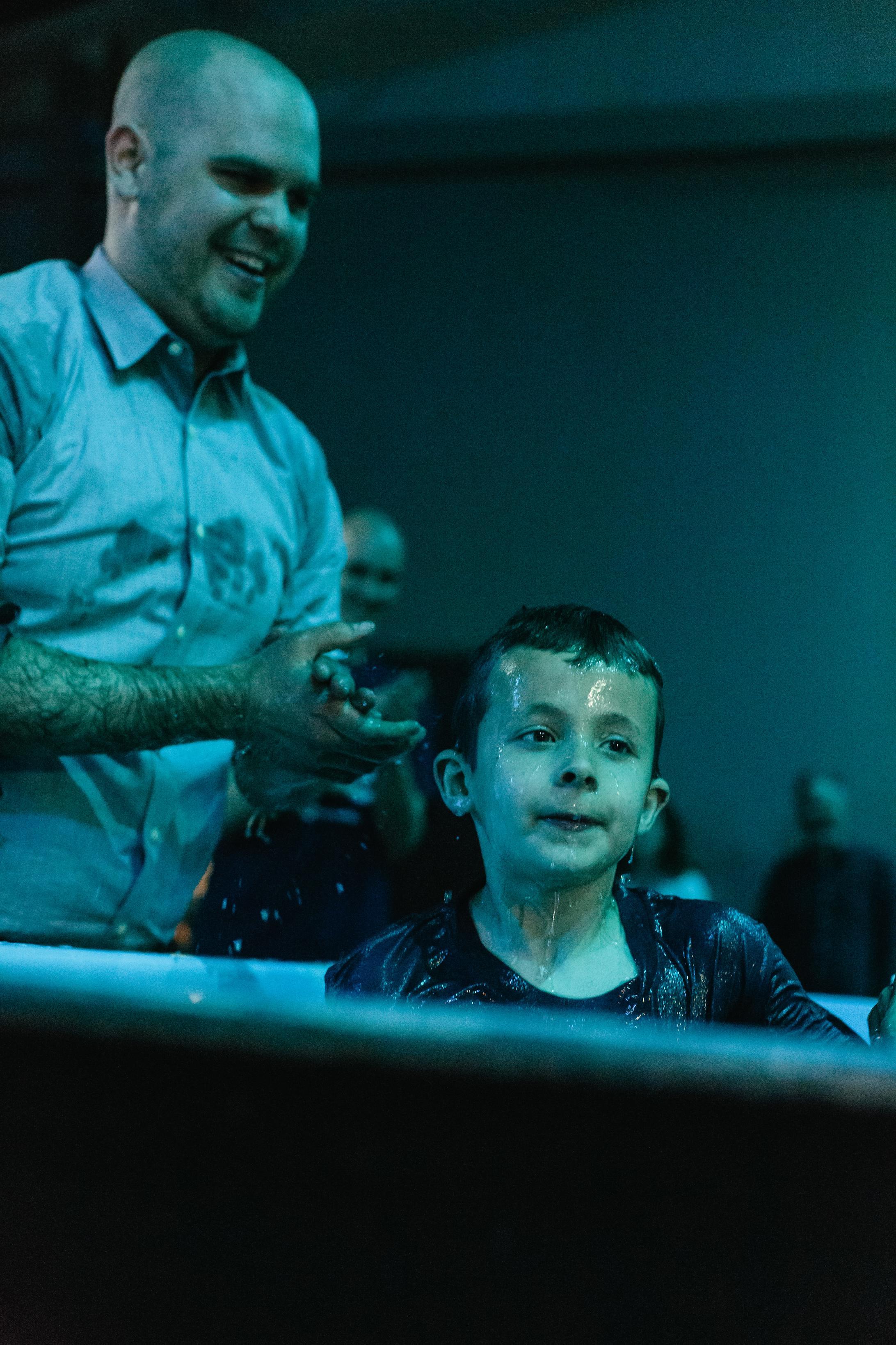 Caleb's Baptism 2